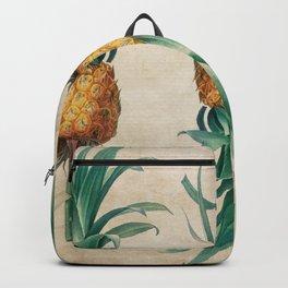 Vintage Hawaiian Pineapple Backpack