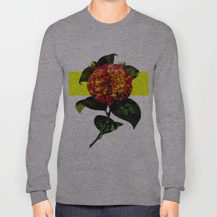 Vintage Bloom /Neon Block Long Sleeve T-shirt