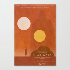 A New Hope Movie Poster Canvas Print