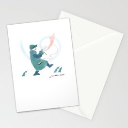 Winter Knitter Stationery Cards