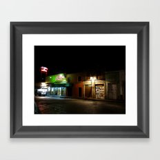 Morelia at Night Framed Art Print