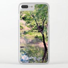 Hidden Oak Creek Clear iPhone Case