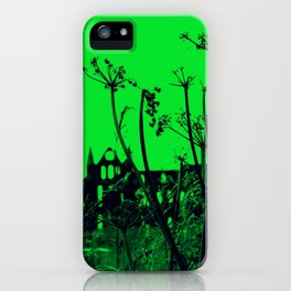 Whitby Abbey in Green iPhone Case