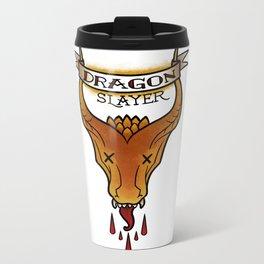 Dragon Slayer Metal Travel Mug