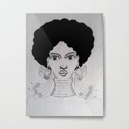 afrogirl Metal Print