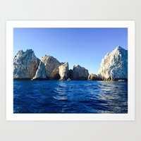 Arches of Cabo Art Print