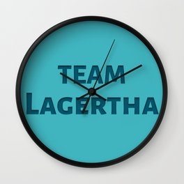 The Lagertha's Army Wall Clock