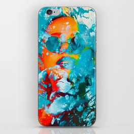 Sana, the colorful woman iPhone Skin