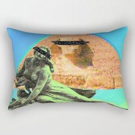 Faux album cover Rectangular Pillow