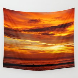 Another Beautiful Costa Rica Sunset Wall Tapestry