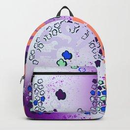 BACKPAC_ popcorn grafiti  Backpack