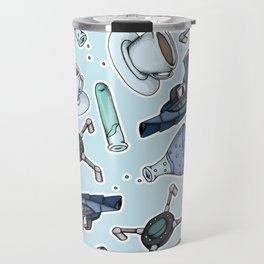 FitzSimmons Pattern Travel Mug