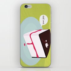 Eat me. iPhone & iPod Skin