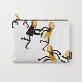 Lindy Hop Dancers Carry-All Pouch