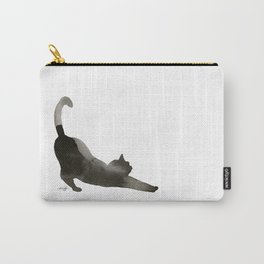 I Love Cats No.1 by Kathy Morton Stanion Carry-All Pouch