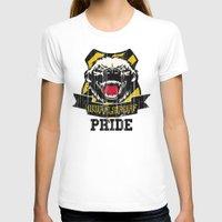 hufflepuff T-shirts featuring Hufflepuff Pride by Geekleetist