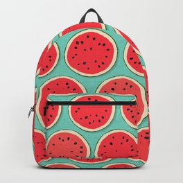 watermelon polka mint Backpack