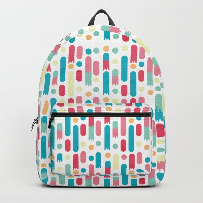 Geometric Rain Backpack