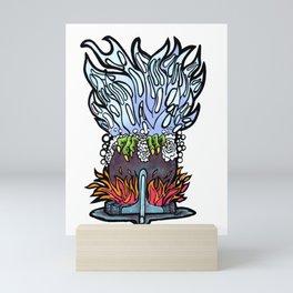 CAULDRON BUBBLES Mini Art Print