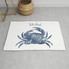 Crab Tide Pool habitat Rug