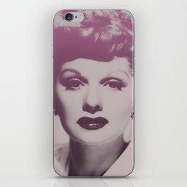 Lucille Ball iPhone Skin