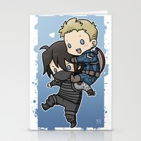 stucky Stationery Cards featuring Stucky On You by DeanDraws