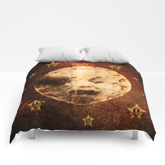 Viaje a la Luna Comforters