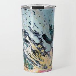 Colorful Splash Abstract Background 10 Travel Mug