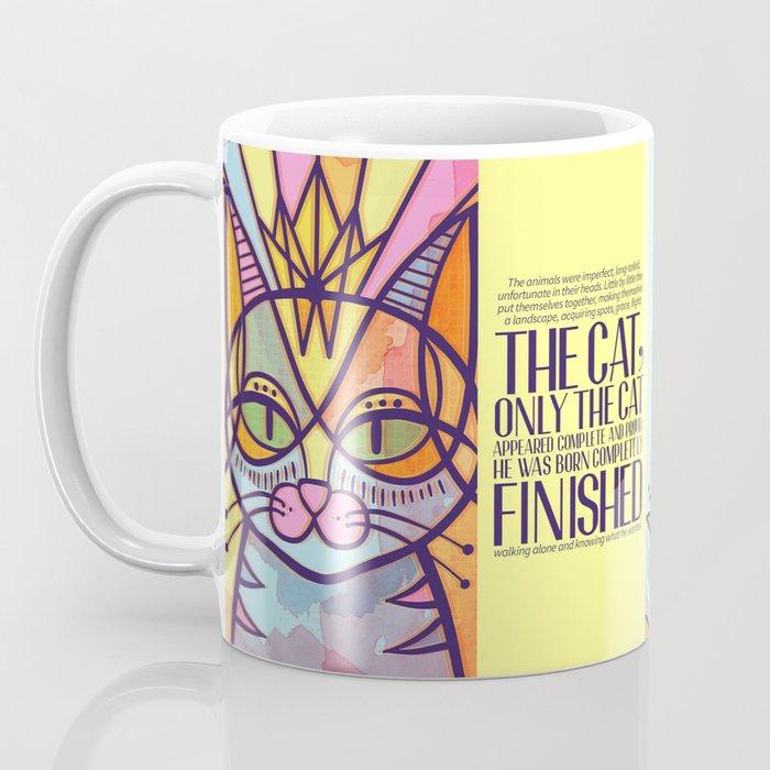 Oda al gato Coffee Mug