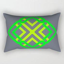 neon spring Rectangular Pillow