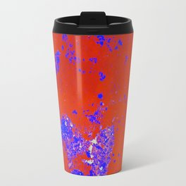 Abstract Island Travel Mug