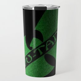 wu-tang game green Travel Mug
