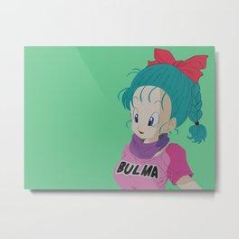 Bulma Metal Print