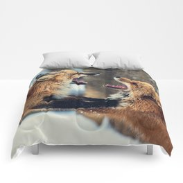 Ultimate Foxing Championship Comforters