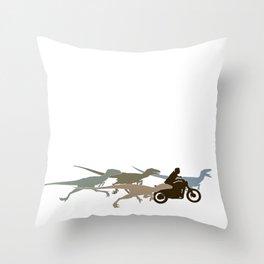 Raptor Squad Throw Pillow