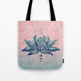 Intricate Lotus Tote Bag