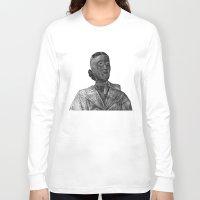 nurse Long Sleeve T-shirts featuring nurse by gordon rabut