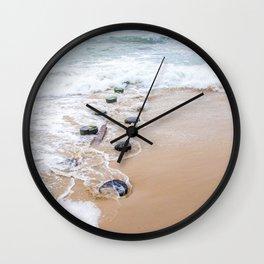Serenity Retreating Wall Clock