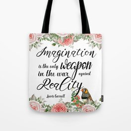 War Against Reality Tote Bag