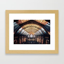 London Natural History Museum  Framed Art Print