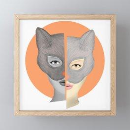 Break or Multiply? Framed Mini Art Print
