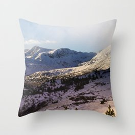 Mountains For Dreaming Throw Pillow