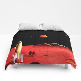CITY ON MARS Comforters