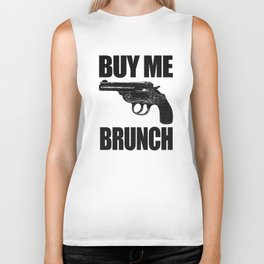 BUY ME BRUNCH Biker Tank