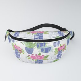 Chinoiserie Cactus Fanny Pack