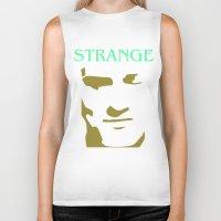 smiths Biker Tanks featuring Strange Strangeways (The Smiths) by Trendy Youth