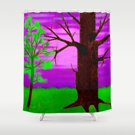 Young and old ... Shower Curtain