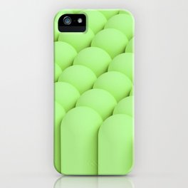 Green tubes iPhone Case