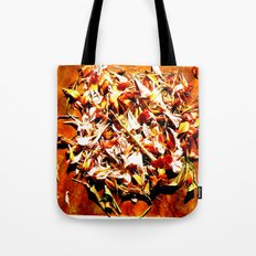 Flowers on a table 2 Tote Bag