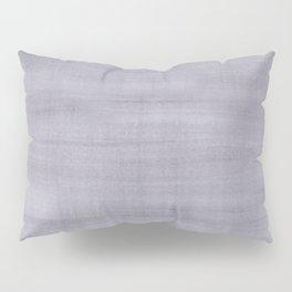 Purple Dry Brush Strokes Texture Pillow Sham